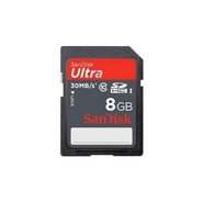 SanDisk 8 GB Ultra  Flash Memory Card - Class 10 -