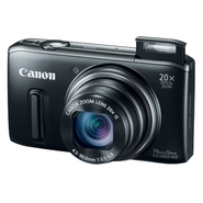 Canon PowerShot SX260 HS Black 12.1 MP 20X Zoom Di