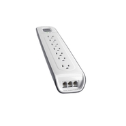 7-outlet Surge Protector with 6 ft Power Cord with
