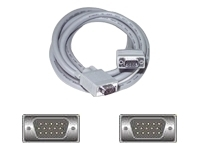 10FT VID CABLE VGA HDDB15M/M SHIELD