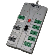 8-Outlet Eco Energy-Saving Surge Suppressor with N