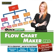 Quickstart Flow Chart Maker Pro - Complete package