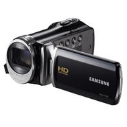 Samsung F90 5 MP High Definition Camcorder - Black