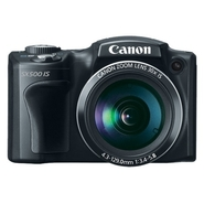 Canon PowerShot SX500 IS 16 MP 30X Zoom Digital Ca