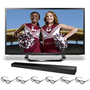 LG 55-inch LED TV - 55LM6200 1080p 120HZ 3D HDTV w