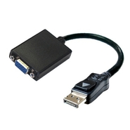 VisionTEK DisplayPort to VGA (HD-15) Active Adapte