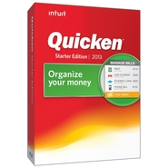 Intuit Download-Quicken Starter Edition 2013