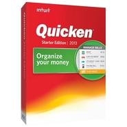 Intuit Quicken Starter Edition 2013 - Complete Pac