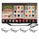 LG 60-inch LED TV - 60LA7400 1080p 240Hz Smart 3D