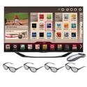 LG 60-inch LED TV - 60LA7400 1080p 240Hz Smart 3D