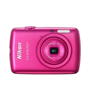 Nikon Coolpix S01 Pink 10.1 MP 3x Zoom Ultra Compa