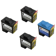 Dell A920 4-Pack: 3 x Black Ink Cartridges (Series
