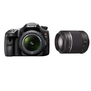 Sony a65 DSLR Camera and Lens Bundle with DT 55-20