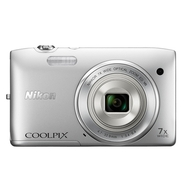 Nikon Coolpix S3500 20.1 MP 7X Optical Zoom Compac