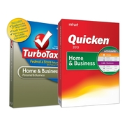 Intuit Quicken Home and Business 2013 and TurboTax