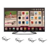 """LG 55-inch LED TV ¢Â€Â"""" 55LA6200 1080p 120HZ Dual"""