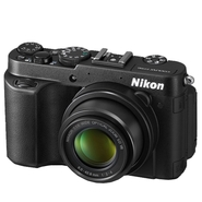 Nikon COOLPIX P7700 Black 12.2 MP 7.1X Zoom Digita