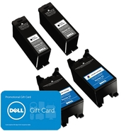 Dell Bundle: 2 x Single Use High Yield Black Cartr