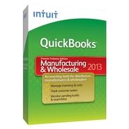 QuickBooks Premier Manufacturing & Wholesale 2013