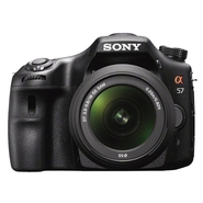 Sony Alpha a57 Black 16.1 MP Digital SLR Camera (w