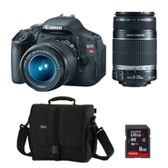 Canon EOS Rebel T3i 18 MP Digital SLR Camera (with