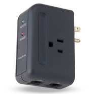 Belkin Travel Surge Protector with Hidden Swivel P