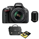 Nikon D5200 24.1 MP Digital SLR Camera Bundle with
