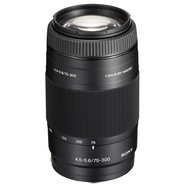 75-300 mm F/4.5-5.6 SAL75300 Telephoto Zoom Lens