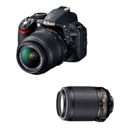 Nikon D3100 14.2 MP SLR Camera with AF-S DX 55-200