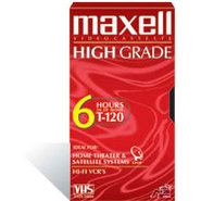 HGX-Gold T-120 - High Grade - VHS tape - 1 x 120mi
