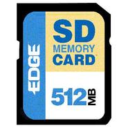 512MB SECURE DIGITAL (SD) CARD
