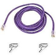 CAT 5 SNAGLESS PATCH CABLE 14&#39; PURPLE