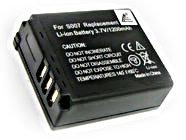 Panasonic CGA-S007 CGA-S007A/1B DMC-TZ1 DMC-TZ2 D