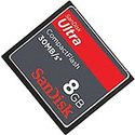8GB 50p CompactFlash Card Ultra 30MB/s 200x Retai
