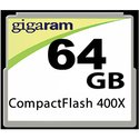 64GB 50p CF CompactFlash Card Premium 400x Retail