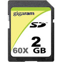 2GB SD Secure Digital Card Hi-Speed 60 (BQP)