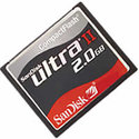 Sandisk 2GB Ultra II SDCFH-2048 CF Compact Flash