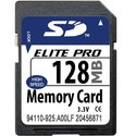 128MB 9p SD Secure Digital Card, MemoryTen, BXV