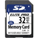 32MB SD Secure Digital Card (BQH)