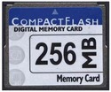 256MB 50p CF CompactFlash Card 20/13 MBs 140x wit