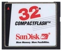 32MB 50p CF CompactFlash Card (Red/ white/ black