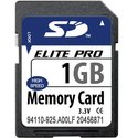 1GB SD Secure Digital Card 13/3MBs 91x w/ Elite P