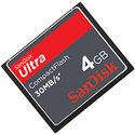 Sandisk 4GB Ultra 30MB/s SDCFH-004G CF Compact Fl