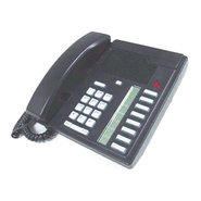 /Meridian 8Line Basic PBX Phone (Refurbished), Bla