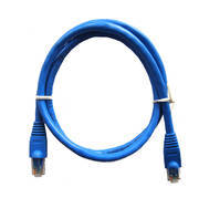 3ft CAT5e Cable Blue BULK