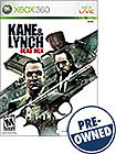 Kane &amp; Lynch: Dead Men - PRE-OWNED - Xbox 360