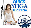Quick Yoga Training - PRE-OWNED - Nintendo DS