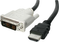 - 30' Male-HDMI-to-Male-DVI Cable