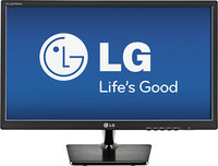 LG - 24   Widescreen Flat-Panel LED HD Monitor