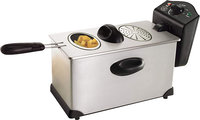 - 35L Deep Fryer - Stainless-Steel